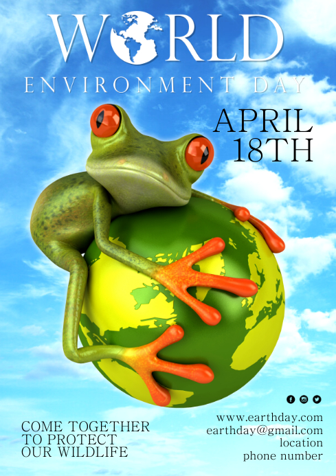 Environment Day Campaign Poster