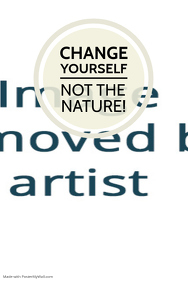 Environment Nature Message Template