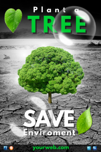 Environment Poster Template