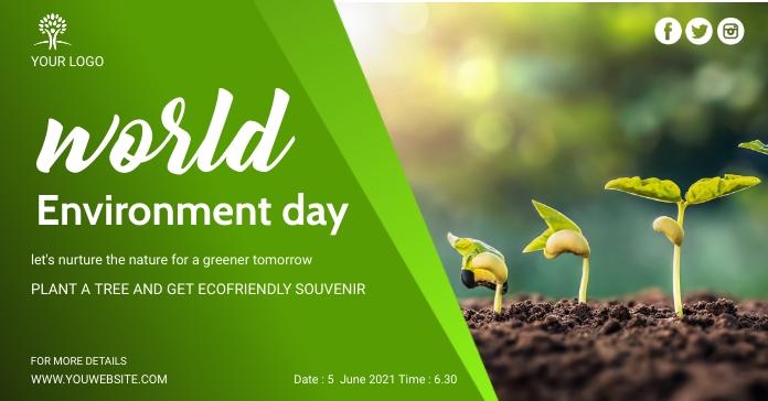Environment social media post Facebook Ad template