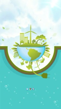 Environmental advert Instagram Story template