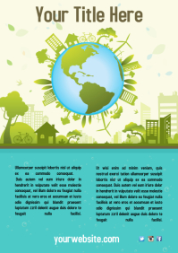 Environmental Campaign Flyer