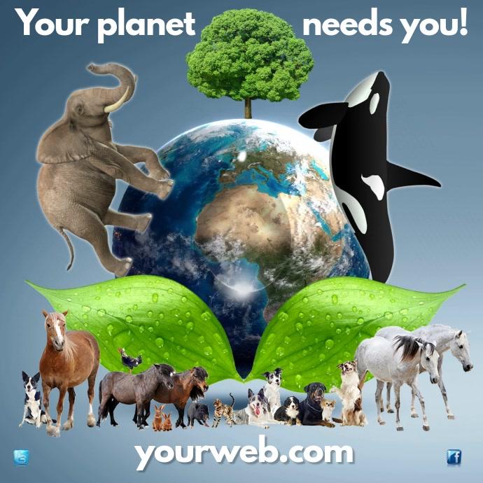 Environmental Campaign Post
