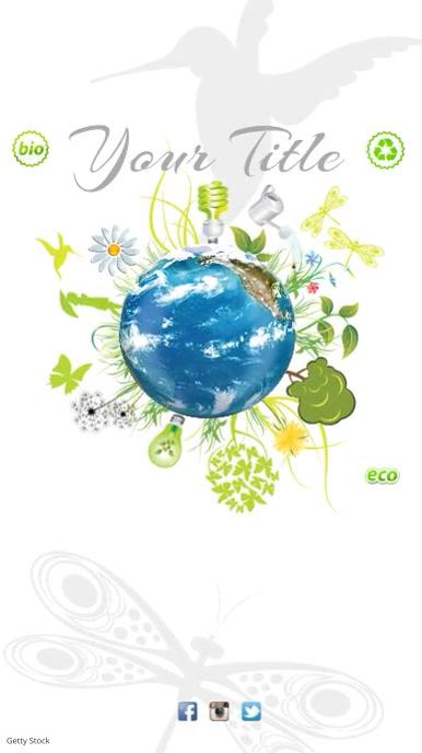 Environmental Campaign Template Digitale display (9:16)
