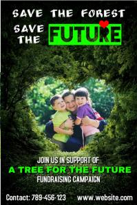 Environmental fundraising poster