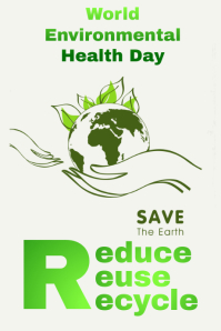 Environmental Health day Tumblr Graphic template