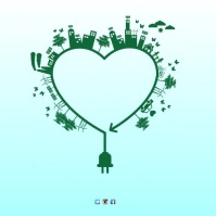 Environmental Issue advert Template Square (1:1)