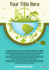 Environmental Poster Template
