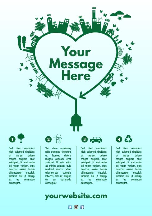 Environmental Poster Template