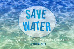 Environmental templates,Save water day templates