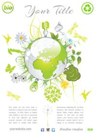 Environmental Theme Flyer