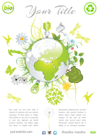 Environmental Theme Flyer