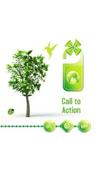 Environmental Video Template Ekran reklamowy (9:16)