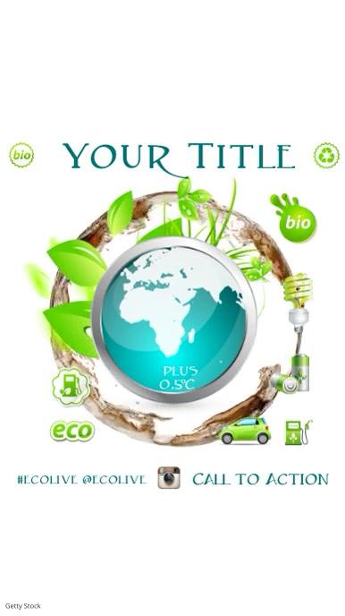 Environmental video Template Tampilan Digital (9:16)