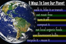 Environmentalist Poster Template