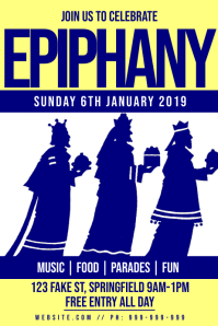 Epiphany Celebration Poster