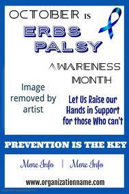Erbs Palsy Awareness Poster