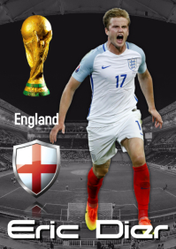 Eric Dier Poster