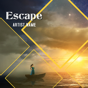 Escape ALBUM ART Capa de álbum template