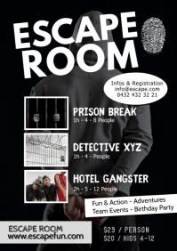 Escape Room Adventure Action Fun Detective