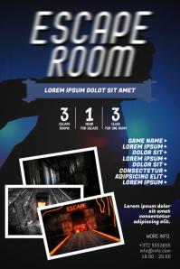 Escape Room Flyer Template