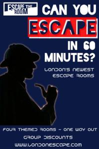 Escape Room Poster Template