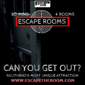 Escape Room Video Prom Template
