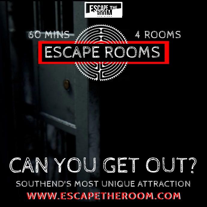 Escape Room Video Prom Template