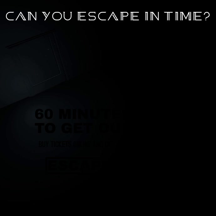 Escape Rooms Video Ad Template