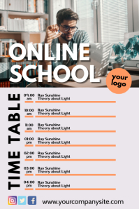 eschool time table learning plan Online Coach