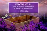Essential Oils 101 Tampilan Digital (16:9) template