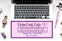Essential Oils Class 101 Digital Display (16:9) template