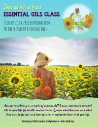 Essential Oils Class Flyer 2