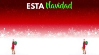 Está Navidad Ahorra Hasta 50% Digital Display (16:9) template