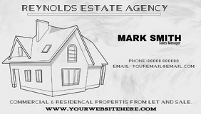 ESTATE AGENCY card