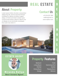 Estate Agent Flyer Templates Design Fully Editable