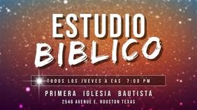 estudio biblico español Digital Display (16:9) template