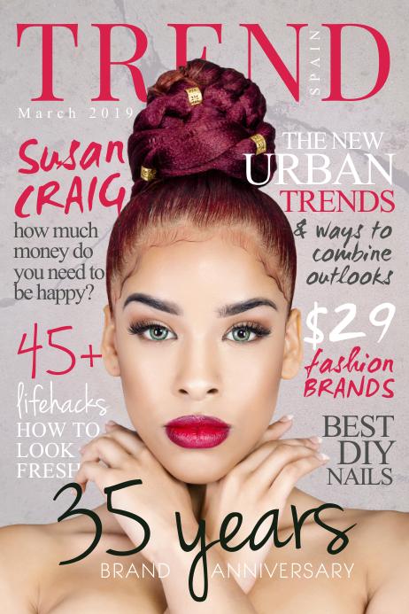 Ethnic Fashion Magazine Cover
