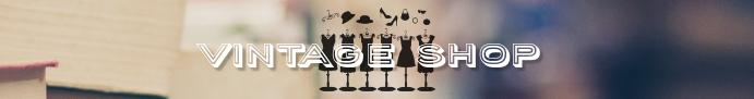 Etsy banner vintage shop