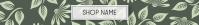 Etsy Leaf Shop Banner Etsy-Banner template
