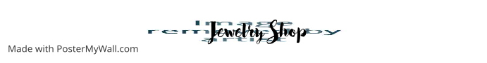 etsy shop banner jewelry shop