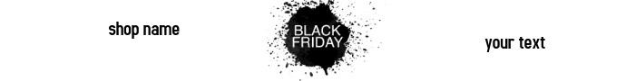 etsy shop banner video black Friday