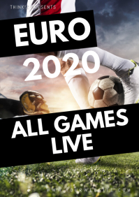 Euro Cup Soccer Football Pulbic Viewing Ad