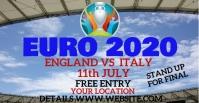 euro2020 soccor cup Capa para evento do Facebook template