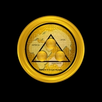 EUROPE Cryptocurrency Coin Design Logo template