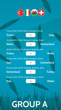 European Football Championship 2020 Story A