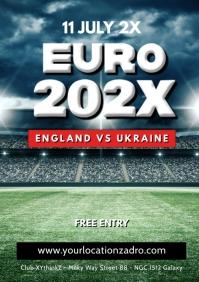 European Soccer Cup Public Viewing Bar Club