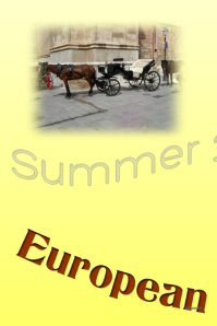 European Vacation Destinations - Customizable Flyer