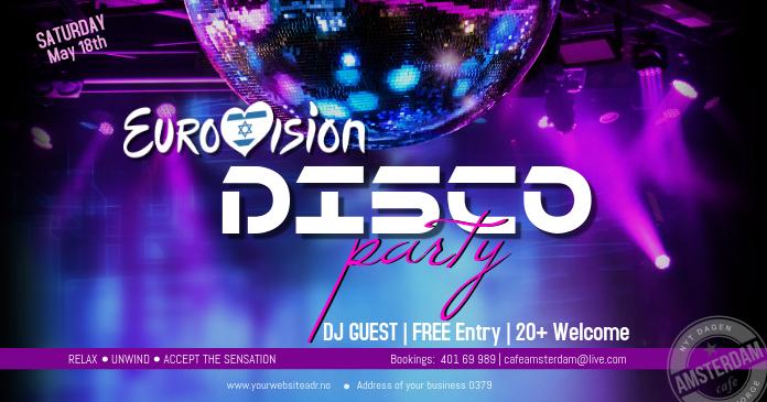 Eurovision Disco Party Tel Aviv 2019 Themed Party Instagram
