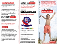 Evangelism Tracts Flyer (US Letter) template